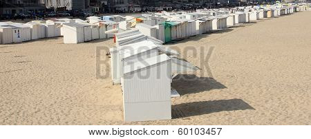 Beach Huts at Ostend