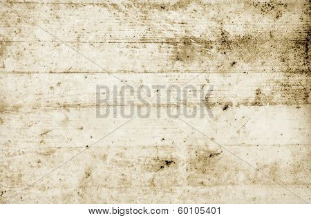 Abstract background, white wooden plank, weathered and dirty