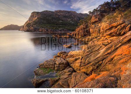 Earlier morning at Sleepy Bay, Freycinet National Park, Tasmania, Australia