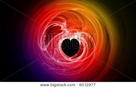 Vibrant Spectrum Heart