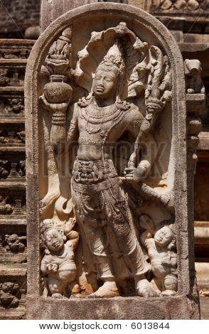Ancient Guardstone Relief