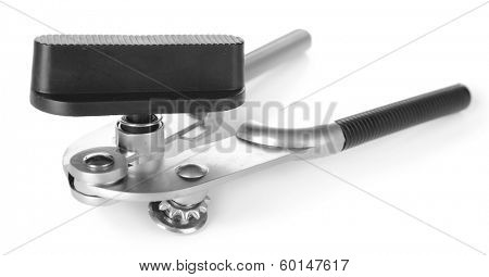 Can piercer isolated on white