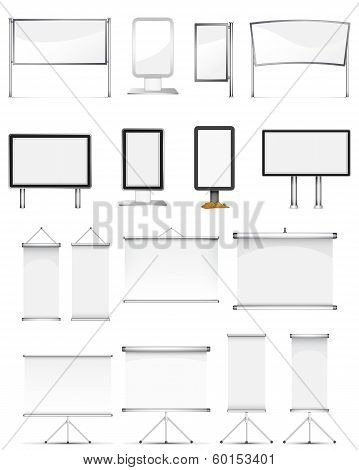 Rollup Stand Set