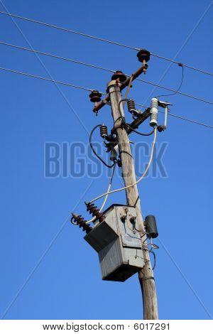 High Voltage Electrical Transformer