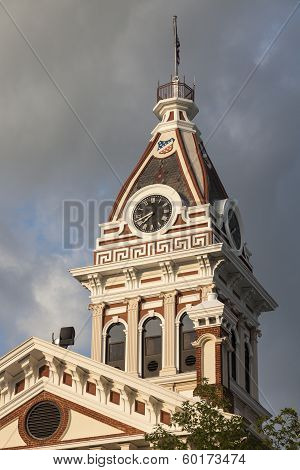 Livingston County - Old Courthouse In Pontiac, Illinois