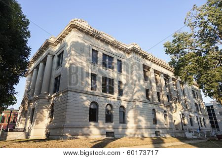 Old Courthouse In Pekin, Tazewell County