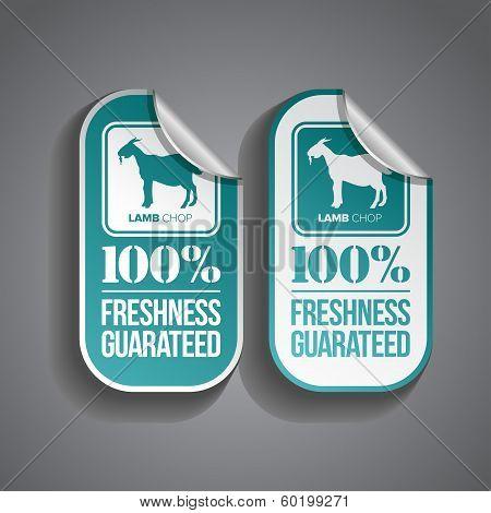 Food Sticker Lamb