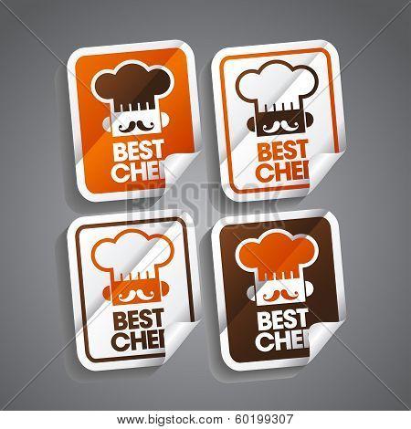 Best Chef Sticker