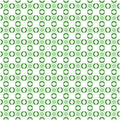 Wallpaper pattern on the white background. Symmetry art. poster