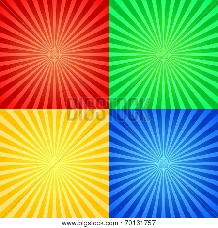 poster of abstract art artistic background beam blot bright card celebration circus color