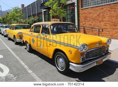 Checker Marathon taxi car produced by the Checker Motors Corporation