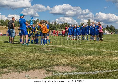 End Of Girl Soccer