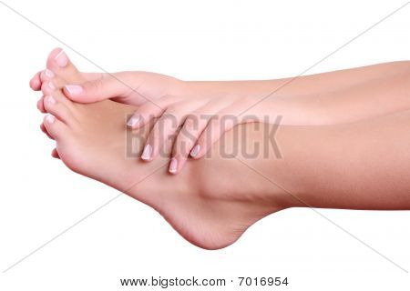 Woman Hands And Feet