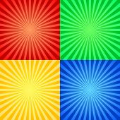 abstract art artistic background beam blot bright card celebration circus color poster