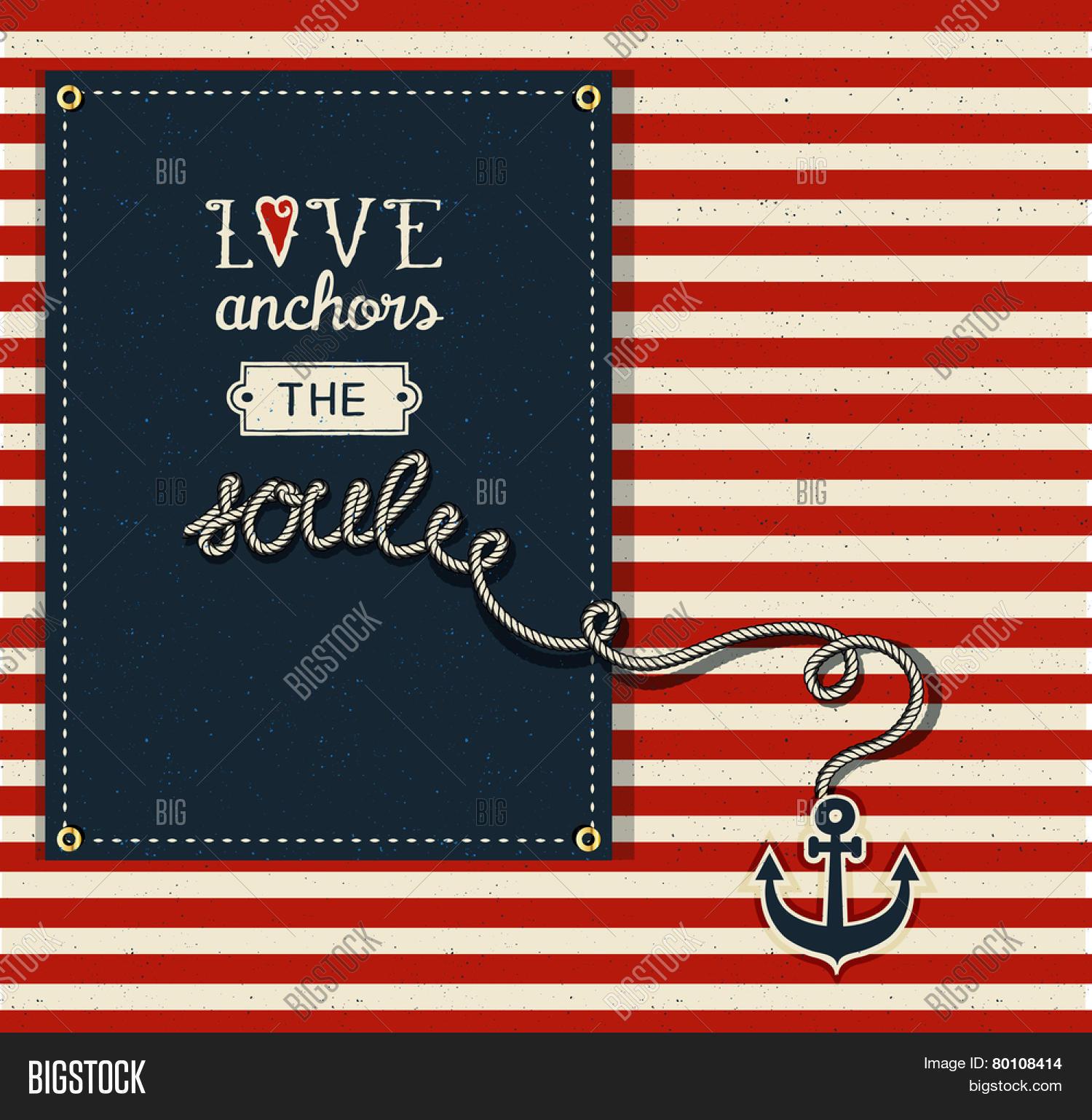 Love Anchors Soul - Vector & Photo (Free Trial)   Bigstock