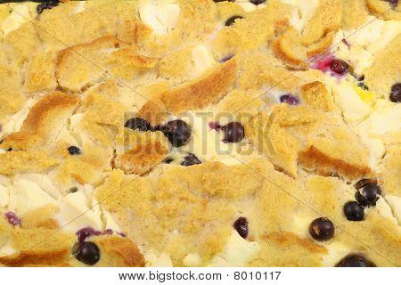 蓝莓法式吐司