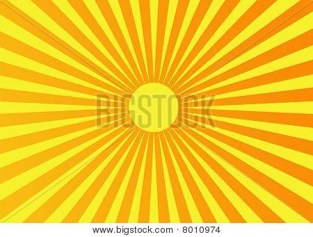 sun background Illustration