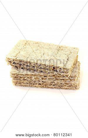 Small Stack Of Crispbread