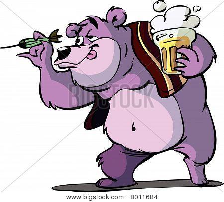 darts bear