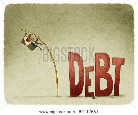 jump over a debt