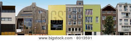 Modern Architecture On IJburg, Amsterdam