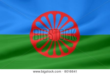 Flag of the Romani group