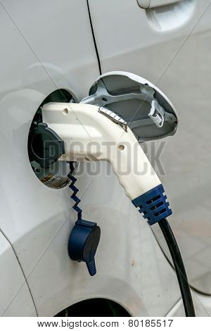 electric car charging station to. symbol of ecology, environmental protection, innovation