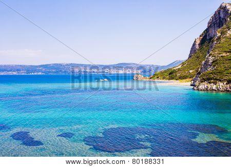 seascape of Ionion sea