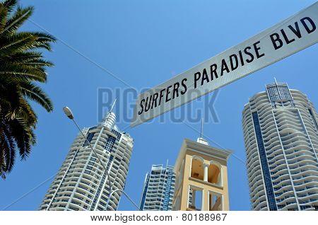 Surfers Paradise Blvd Gold Coast Australia
