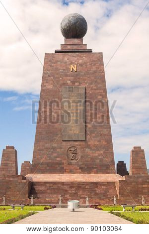 Center Of The World, Mitad Del Mundo, North View, South America