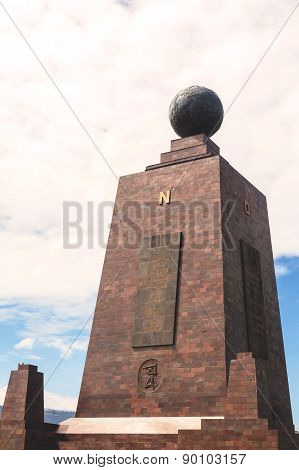 Center Of The World, Mitad Del Mundo, Thirty Meter Monument, South America
