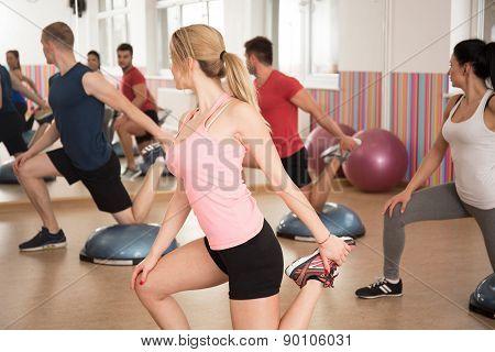 Exercise With Bosu Balance Trainer