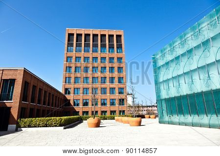 Generic Modern Building Without People