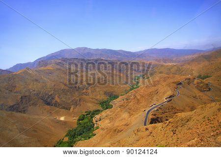 Morocco Toubkal National Park High Atlas. . poster