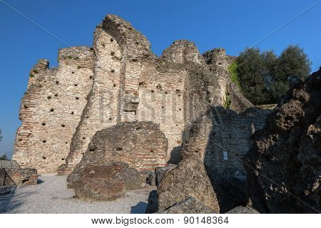 Grottoes Of Catullus In Sirmione, Italy