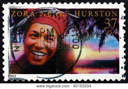 Postage Stamp Usa 2003 Zora Neale Hurston, American Writer
