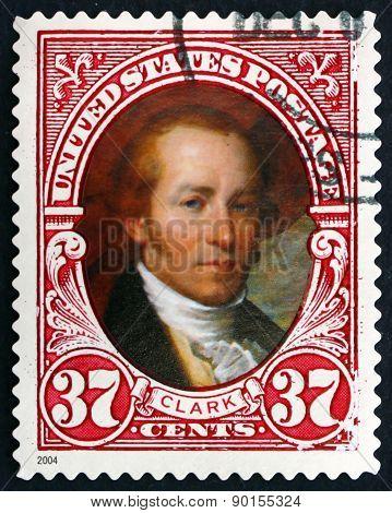 Postage Stamp Usa 2004 William Clark, American Explorer