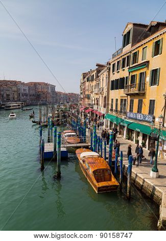 Buildings In Venice During The Day