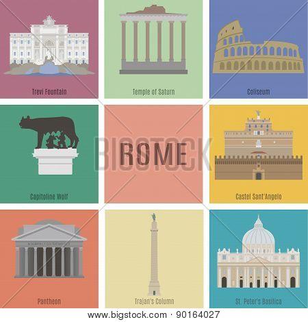 Symbols Of Rome