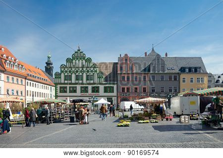 Market Square, Weimar, Germany