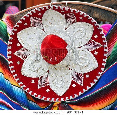 Colorful Mexican Sombrero Souvenirs