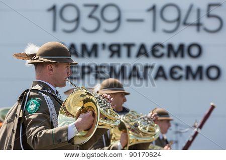 Celebration Of Victory Day In Kiev