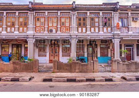 Malaysian Houses In Penang