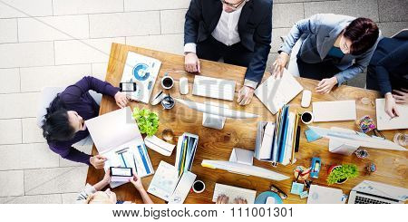 Meeting Seminar Conference Brainstorming Business Concept