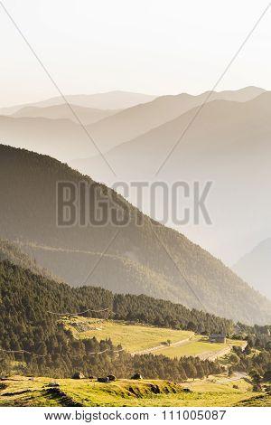 Evening in Andorra