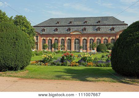 Orangerie in Darmstadt (Hesse, Germany)