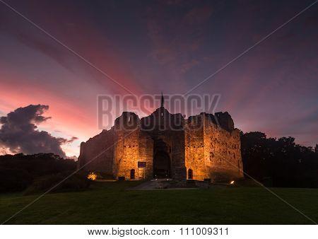 Oystermouth Castle Swansea