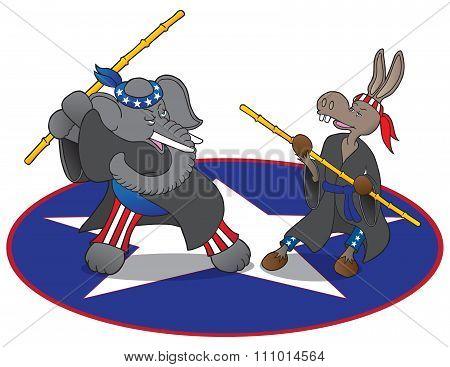 Ninja Political Mascots