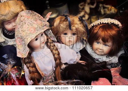 Vintage Ceramic Dolls