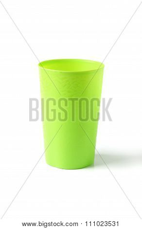 Plastic Glass.